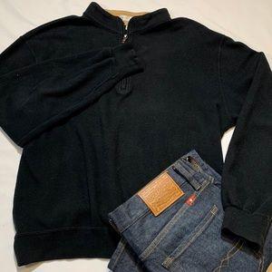 👑Peter Millar Quarter ZIP Mens Cotton Pullover